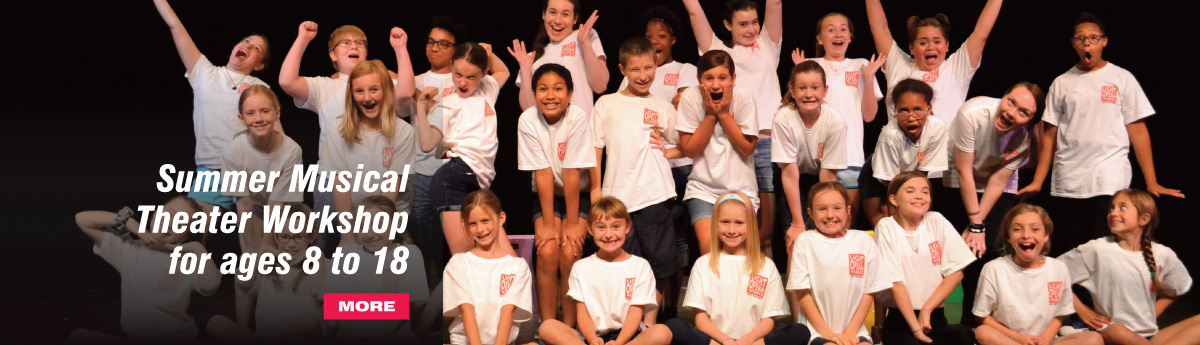 Summer Musical Theater Workshop for ages 8 to 18