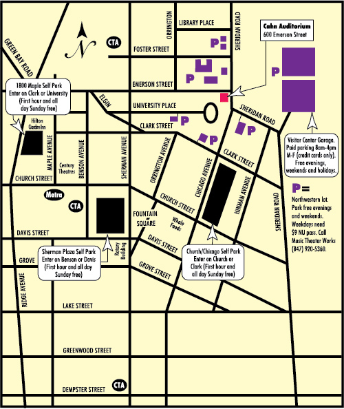 Cahn Parking Map